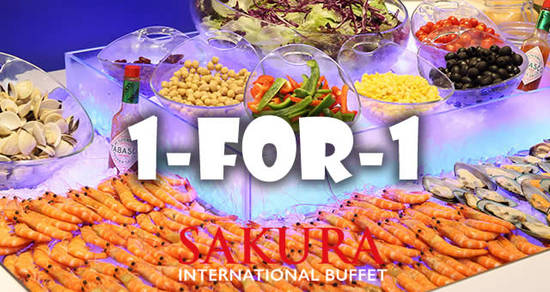 Sakura International Buffet 4 Apr 2017