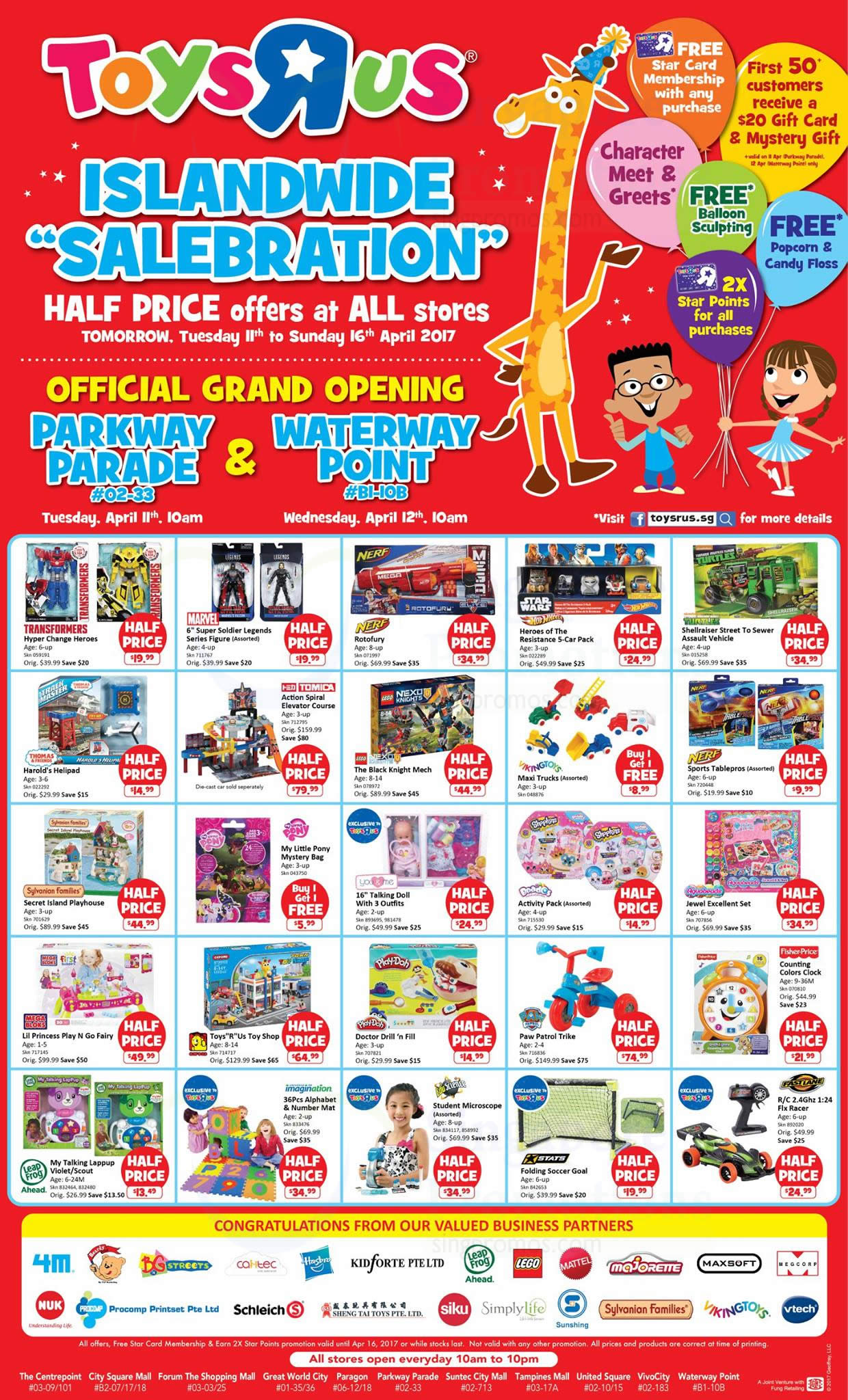 """All Toys Toys R Us : Toys """"r us half price offers more at all stores from"""