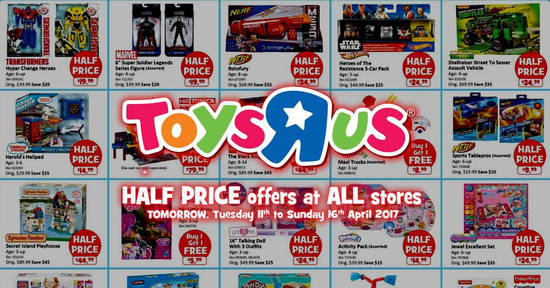 Toys R Us feat 10 Apr 2017
