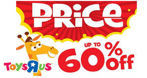 "Toys ""R"" Us: Mayday warehouse sale at United Square from* 27 Apr – 1 May 2017"