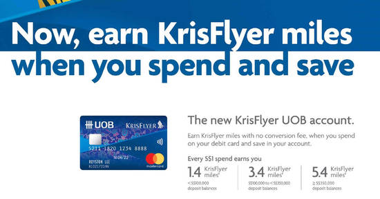UOB KrisFlyer feat 19 Apr 2017