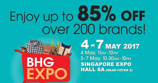 BHG Expo feat 4 May 2017