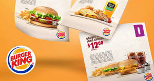 Save at Burger King with these digital discount e-coupons! Valid from 16 May – 9 Jul 2017