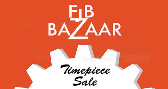 FJB Bazaar Timepiece feat 15 May 2017