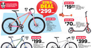 FairPrice Xtra: Aleoca bikes offers – save up to $90! From 25 May – 7 Jun 2017