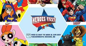 Heroes Fest (Powerpuff Girls, Ben 10 & more) at Takashimaya Square from 31 May – 12 Jun 2017