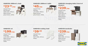IKEA: Save up to $110 on selected items with the latest monthly promo offers from 1 May – 4 Jun 2017
