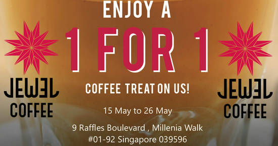 Jewel Coffee feat 15 May 2017