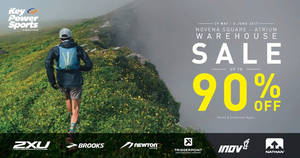 Key Power Sports warehouse sale returns from 29 May – 4 Jun 2017