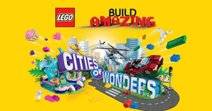 LEGO Cities of Wonders event at Parkway Parade from 2 – 18 Jun 2017