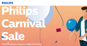 Philips Carnival Sale returns from 19 – 21 May 2017