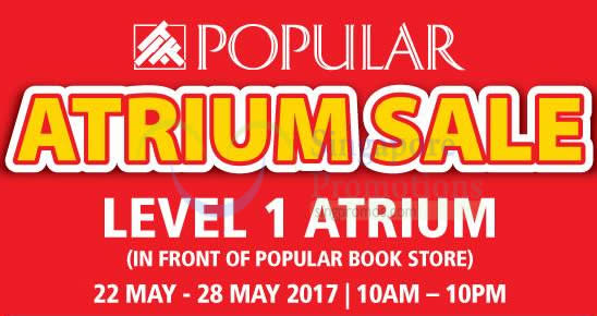 Popular Atrium sale feat 17 May 2017