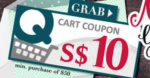 Qoo10: Grab free $10 cart coupons from 29 – 31 May 2017