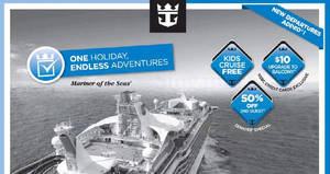 Royal Caribbean roadshow at Waterway Point (Cruise from $299*!) from 23 – 28 May 2017
