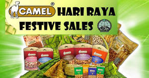 Seng Hua Hng Foodstuff (Camel Nuts) Hari Raya festive sale from 30 May – 24 Jun 2017