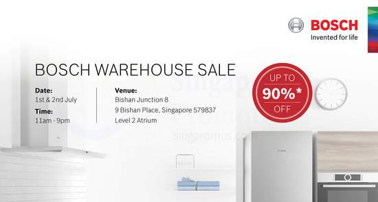 Bosch Warehouse Sale feat 21 Jun 2017