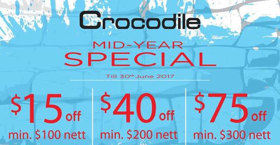 Crocodile feat 2 Jun 2017