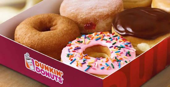 Dunkin Donuts feat 2 Jun 2017