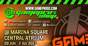 Gamepro Shop Marina Square atrium promotions & offers! From 29 Jun – 2 Jul 2017