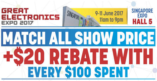 Great Electronics Expo feat 2 Jun 2017