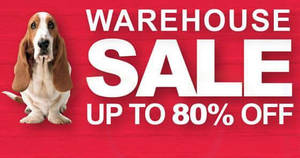 Hush Puppies Apparel warehouse sale returns with discounts of up to 80% off! From 21 Sep – 8 Oct 2017