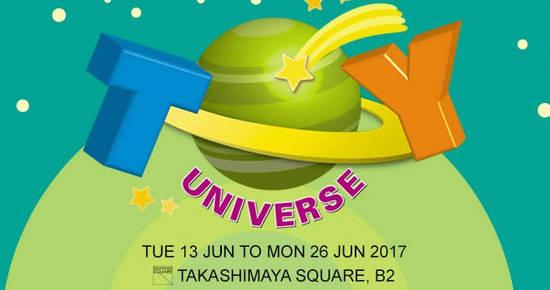 Takashimaya Toy Universe 13 Jun 2017