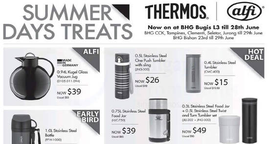Thermos offers feat 16 Jun 2017