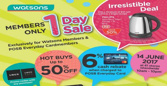 Watsons feat 13 Jun 2017