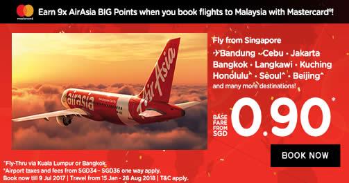 AirAsia 3 Jul 2017