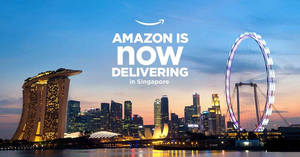 Amazon launches in Singapore with delivery times as short as one hour! From 27 Jul 2017