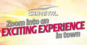 Car-nival at Suntec from 19 – 20 Aug 2017