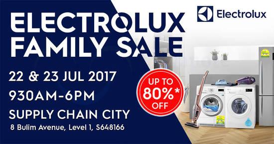 Electrolux Family Sale 10 Jul 2017