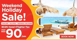 Air Asia Go: Grab a 3D2N vacation fr $90/pax (Hotel + Flights + Taxes)! Book from 21 – 27 Aug 2017