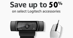 Amazon 24hr Deal: Up to 50% off select Logitech PC accessories! Ends 16 Aug 2017, 3pm