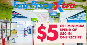 Fairprice: $5 cut-out coupon available in selected newspapers today! Coupons valid till 23 Aug 2017