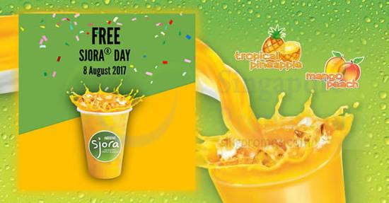 Free SJORA with 6 Aug 2017