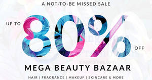 Luxasia: Up to 80% off mega beauty bazaar from 25 – 26 Aug 2017