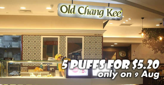 Old Chang Kee feat 9 Aug 2017
