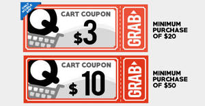 Qoo10: Grab free $3 and $10 cart coupons! From 21 – 22 Aug 2017