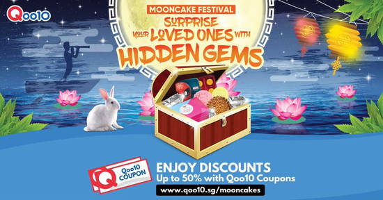 Qoo10 Mooncake Festival 31 Aug 2017