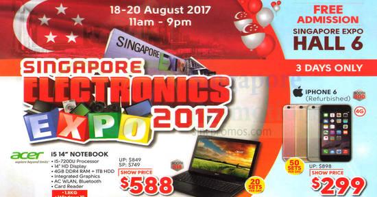 Singapore Electronics Expo feat 14 Aug 2017