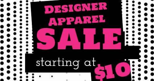 Designer Label Apparel feat 12 Sep 2017