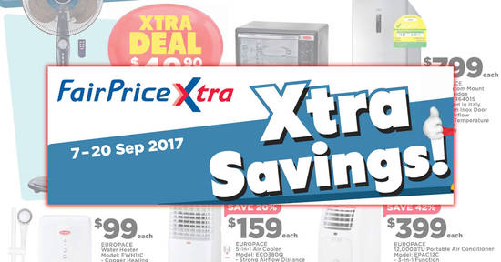 FairPrice Xtra feat 7 Sep 2017