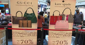 Luxury City branded handbags sale at City Square Mall! From 25 Sep – 1 Oct 2017