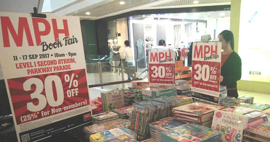 MPH Bookstores feat 13 Sep 2017