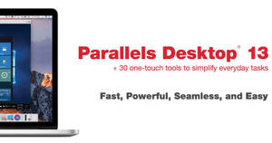 Parallels Desktop 13 for Mac 15% off coupon code! Only from 25 – 27 Sep 2017