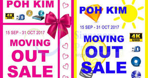 Poh Kim moving out sale at Parkway Parade! From 15 Sep – 31 Oct 2017