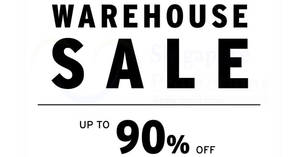Branded Warehouse Sale – up to 90% OFF Dr. Martens, Hex & more! From 19 – 31 Oct 2017