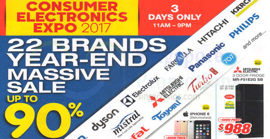 Consumer Electronics Expo feat 11 Oct 2017