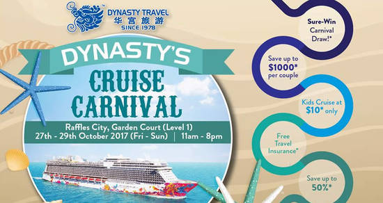 Dynasty Travel feat 27 Oct 2017